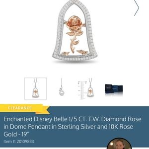 Zales Disney Collection necklace